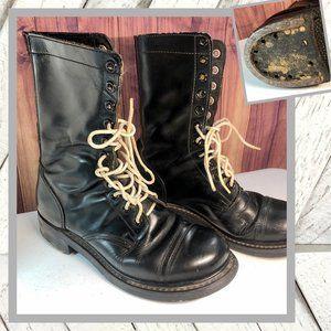 Vntg Korean Military Boots